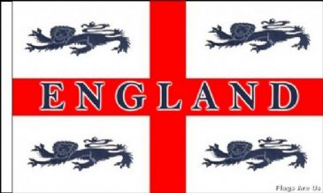 England 4 Lions  (Sleeved)